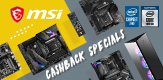 MSI CASHBACK SPECIAL