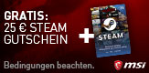 MSI 25€ Steam Promo März 2018