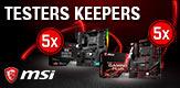 TESTERS KEEPERS MSI B450