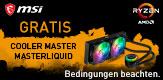Jetzt MSI X570 Aktionsmainboard kaufen und Coolermaster CPU-Wasserkühlung GRATIS erhalten. (Bedingungen beachten)