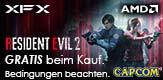 Resident Evil™ 2 GRATIS beim Kauf einer XFX RX590 Fatboy für eine limitierte Zeit