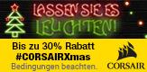 Lassen Sie es leuchten! Bis zu 30% Rabatt beim Kauf ausgewählter Corsair Produkte erhalten!