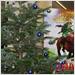 Mindfactory Weihnachtsdekoration Tannenbaum im Ladengeschäft