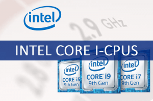 Unterschied Intel® Core™ i-Serie
