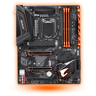 Gigabyte Z370 AORUS Ultra Gaming 2.0 Intel Z370 So.1151 Dual Channel