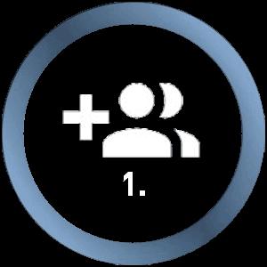 Erstellen/ Loggen Sie sich mit Ihrem MSI Account ein.