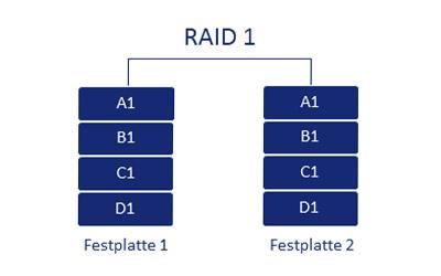 RAID 1 Schema