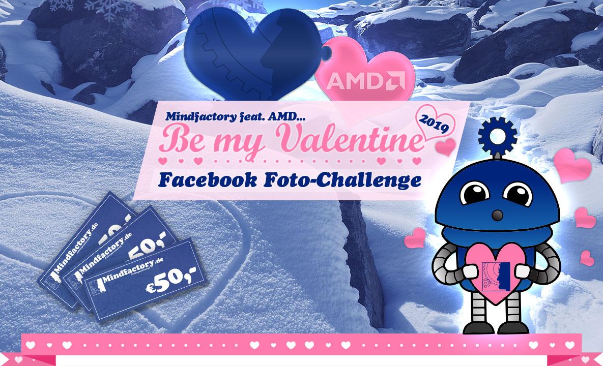 Mindfactory - Be my Valentine 2019: Facebook Foto-Challenge
