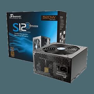 520 Watt Seasonic <br /> S12II