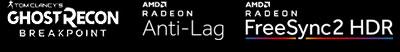 Tom Clancy's GhostRecon Breakpoint | AMD Radeon™ Anti-Lag | AMD Radeon™ FreeSync2 HDR