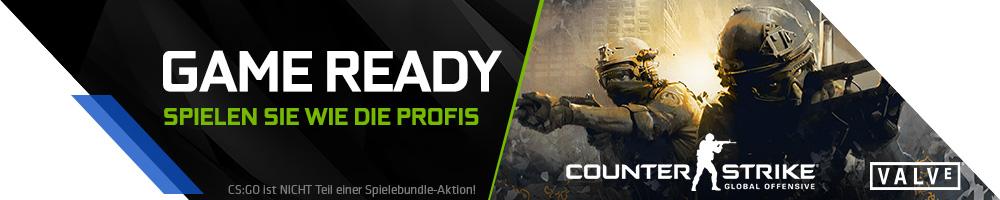 NVIDIA Game Ready mit der GeForce® GTX™ 10er Serie