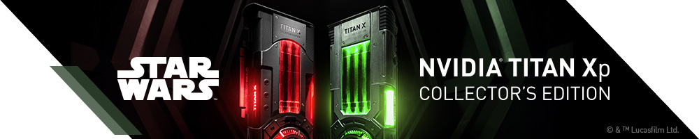 NVIDIA® TITAN XP COLLECTORS EDITION